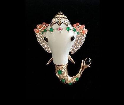 Elephant jewellery kaleidoscope