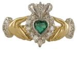 Symbolic Claddagh ring