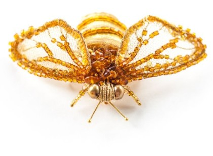 Eva Anders insect brooches