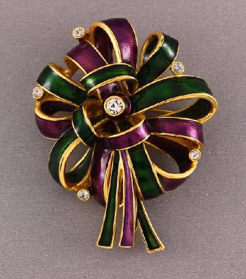 Bow brooch-pendant