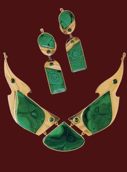 Jeweler Vladimir Salomatin