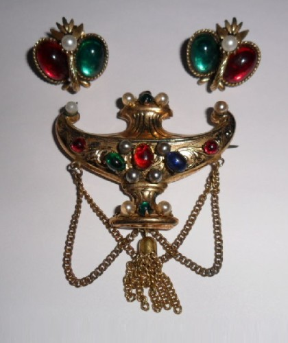 Set Aladdin's lamp. Patented work of Adolph Katz, 1940