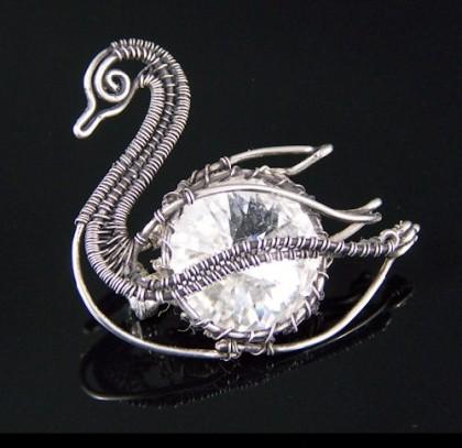 Swan jewellery kaleidoscope