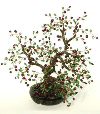 Feng Shui trees by Oksana Solovieva