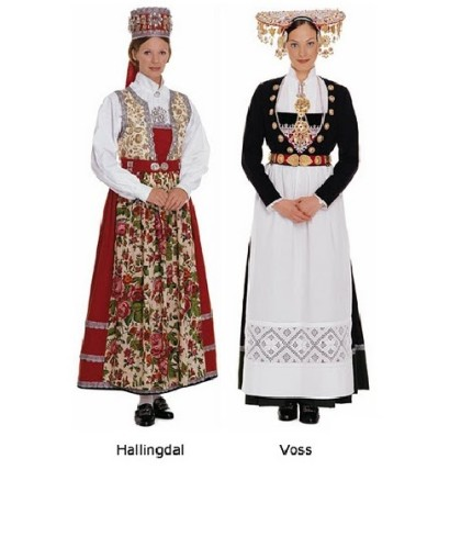 Varieties of Norwegian Bunad