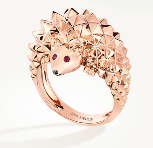 1fef9a00b1f16f hedgehog ring - Kaleidoscope effect