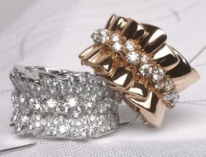 Victoire de Castellane Silk Dior jewellery