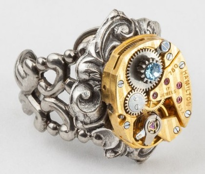 Maria Sparks steampunk jewelry