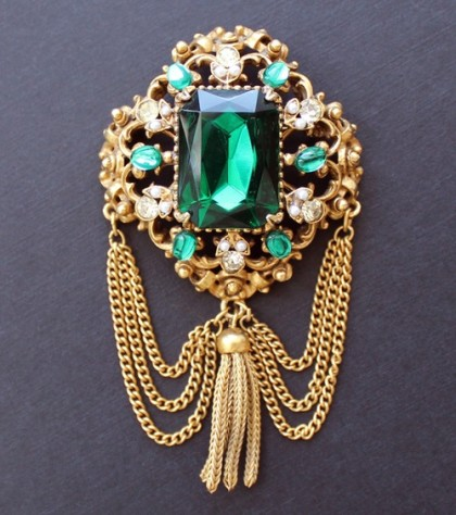 Renaissance style brooch. 1950-1960s. Galina Karputina collection
