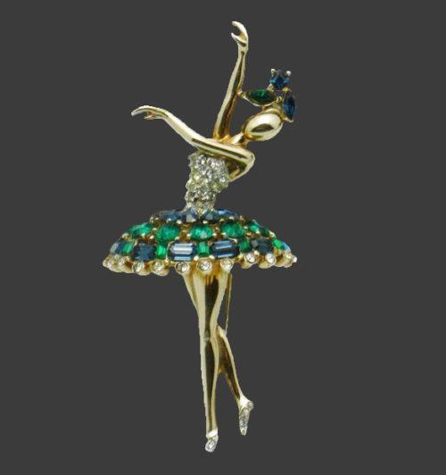 1950 Trifari Ballerina brooch