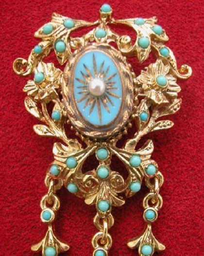 Classical Brooch 'Arabesque'