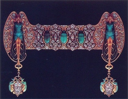 Beautiful art by French jeweler Rene Jules Lalique