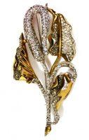 Fabulous brooch - Monster flower. 1941