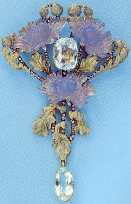 Rene Lalique Art Nouveau jewellery