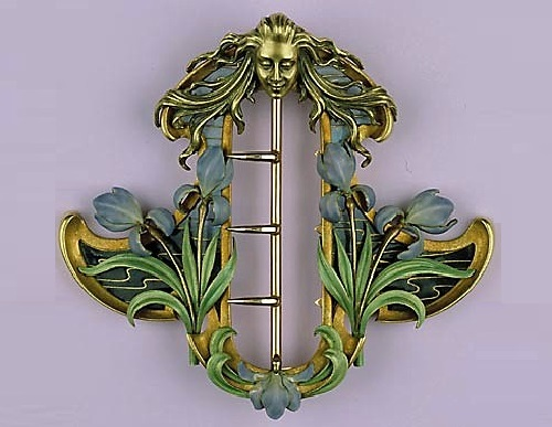 Rene Lalique Art Nouveau Jewellery Kaleidoscope Effect