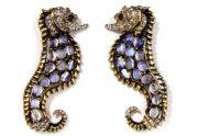 Seahorse brooch. 1946