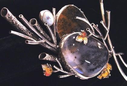 Mineral art by Vladimir Orzhekhovskiy