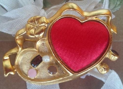 Box of Chocolates brooch