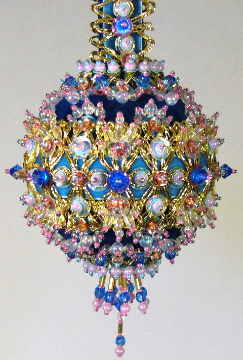 beaded Vintage ball