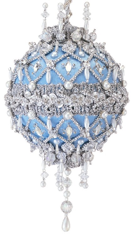Kaleidoscope of beaded baubles