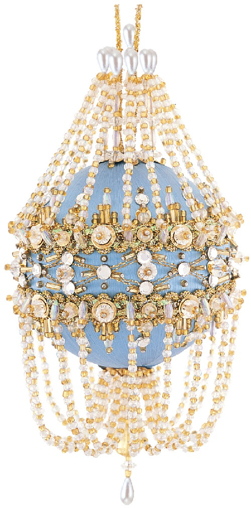Elegant beaded Vintage ball