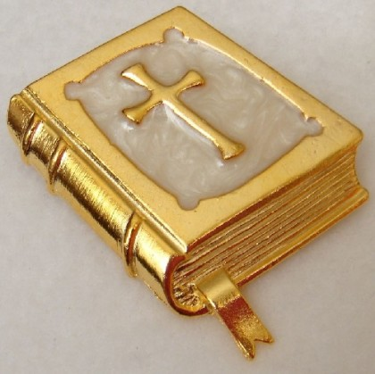 The Bible brooch