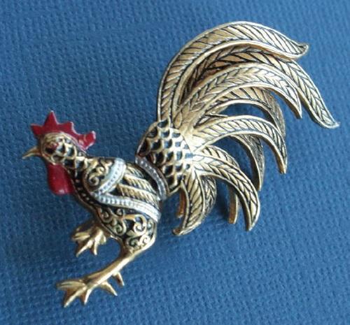 1950-60 Cockerel Damascene, Spain