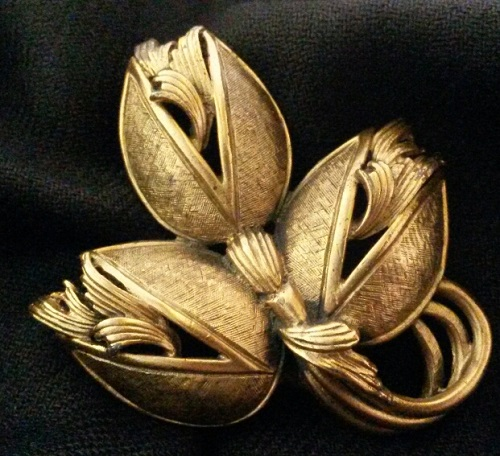 1950s Tortolani collectible Vintage brooch