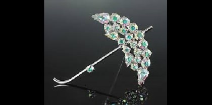 B. David brooch, pin 'Umbrella'. Image credit Natalia Sjolie