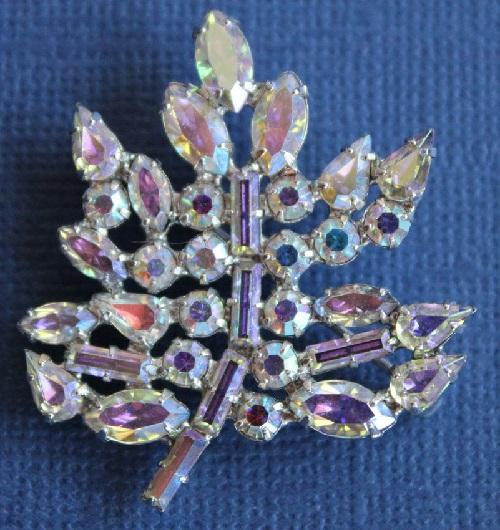 B. David vintage brooch