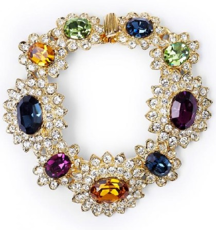 Beautiful necklace by American jewelry designer Kenneth Jay Lane (KJL)