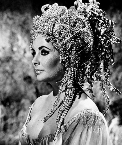 Beautiful Elizabeth Taylor in 1963 'Cleopatra'