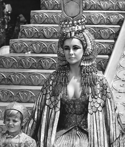 Gorgeous Taylor in 1963 'Cleopatra'