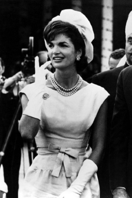 Jacqueline Kennedy in KJL jewellery