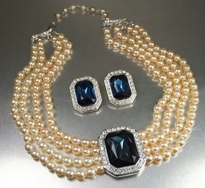 Princess Diana KJL necklace