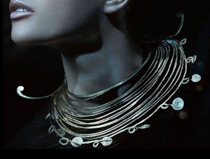Alexander Calder spiral jewellery