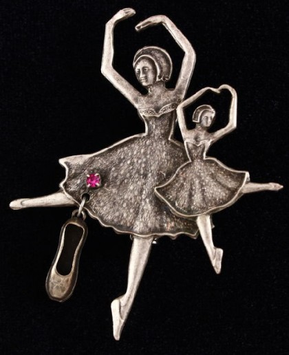 Dance inspired jewellery