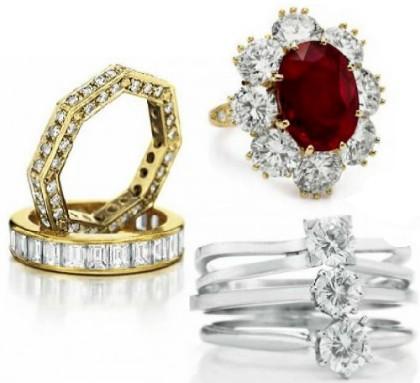Elizabeth Taylor jewellery