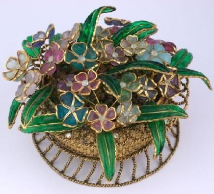 Maison Gripoix glass jewellery