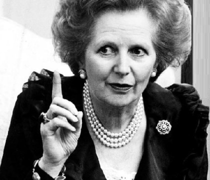 Jewellery lover Margaret Thatcher
