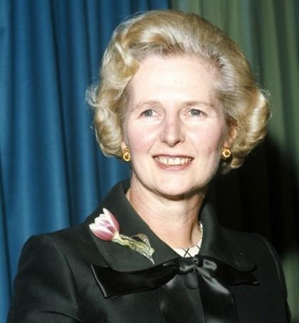 Jewellery lover Margaret Thatcher