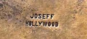 Signed Joseff of Hollywood