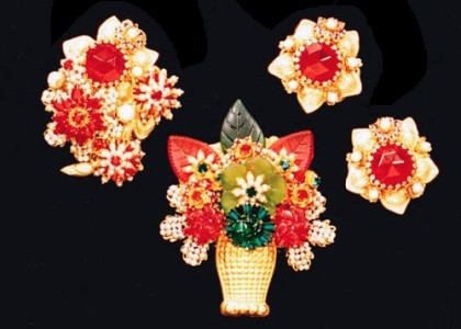 Gorgeous set of Stanley Hagler jewellery
