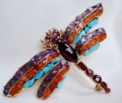 Dragonfly jewellery symbolism