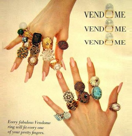 Fabulous Vendome rings, 1969 poster