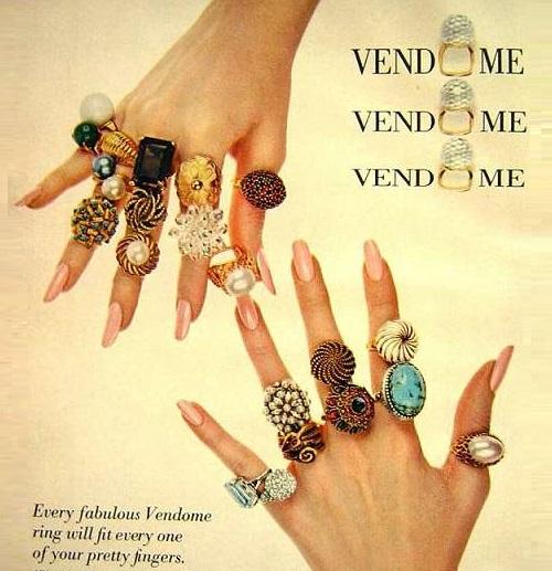 Fabulous Vendome rings, 1969 poster
