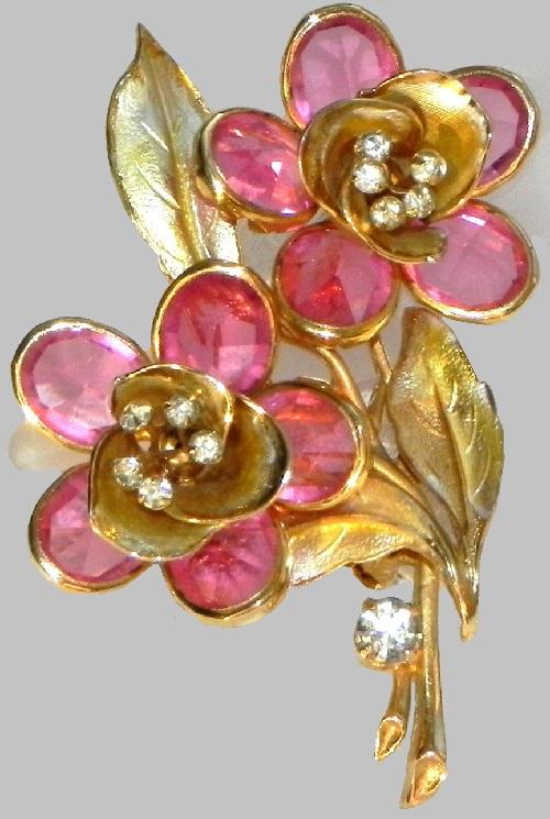 Delicate Flower brooch, 1960s