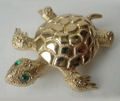 Turtle in jewellery