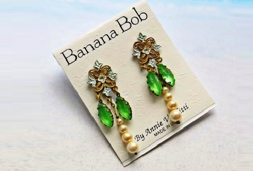 Created by Annie Venditti Banana Bob jewelry