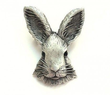 Rabbit (2023 January 22). Element Water. Jonette Jewelry (JJ) head of Rabbit vintage brooch. Galina Karputina collection